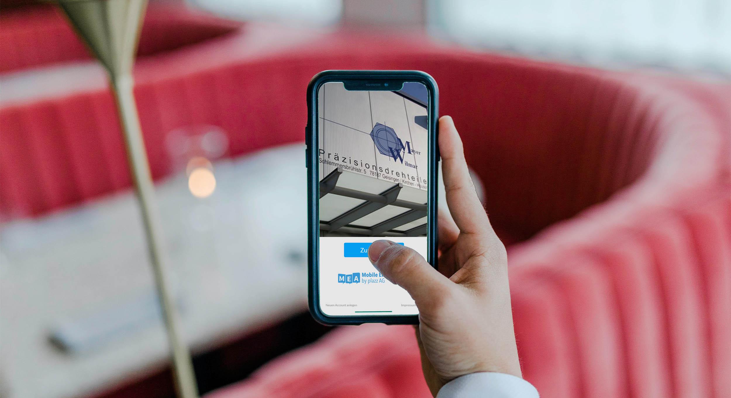 App für Mayer Wilmar Belegschaft