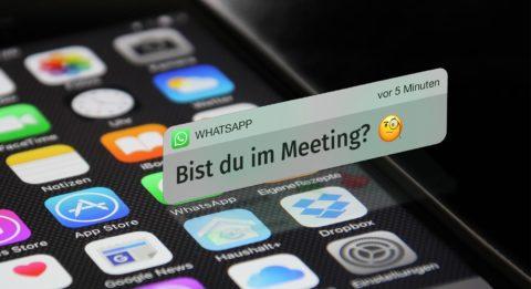 interne kommunikation über whatsapp