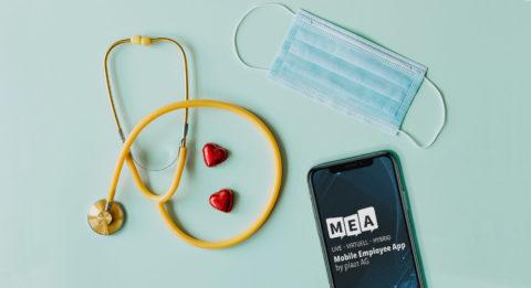 mitarbeiter app für Kliniken
