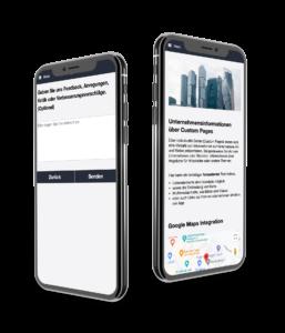 Umfragen und Custom Page in der MEA